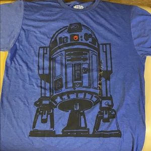 Men's Star Wars R2D2 shirt size Large